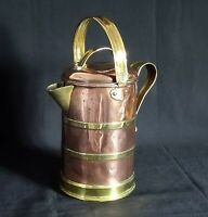 Arts & Crafts Copper & brass Hot Water Jug C.1900~William Soutter & Son~Superb