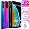 X27 Pro Unlocked Smartphone 5.8'' Android 8.0 16MP Face ID 4G+64G Dual SIM Octa