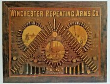 WINCHESTER REPEATING ARMS CO.NOSTALGIC RETRO  COLLECTIBLE TIN SIGN MADE IN USA