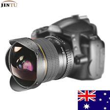 JINTU 8mm F/3.5 Ultra Wide Fisheye Aspherical Circular Lens for Nikon SLR Camera