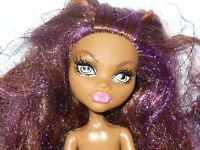 Mattel Monster High CLAWDEEN WOLF SWEET 1600 Doll Nude Naked for OOAK/Custom
