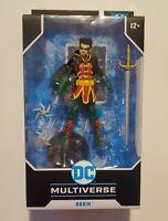 "DC Multiverse ROBIN DC Rebirth Damian Wayne 7"" Action Figure McFarlane Toys 2021"