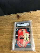 RARE 1985 Topps WWF WRESTLING HULK HOGAN Sticker CARD #11 GMA 8 NM-MINT WWE