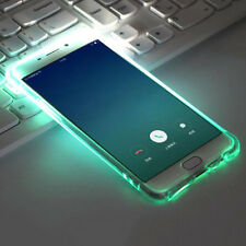 Qu_ CO_ LED Flash Incoming Call Shockproof Bumper Case Cover for iPhone 7 Samsun