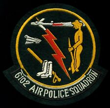 USAF 6102nd Air Police Squadron Patch S-13
