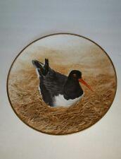 Waterbird Plate by Danbury Mint Oystercatchers By Eric Tenney