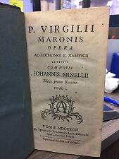 Maronis Virgilii P.  [SETTECENTINE]
