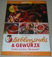 Walter Lieblingsrubs & Gewürze mixtipp Rezepte Koch Buch Kochen Thermomix Neu!