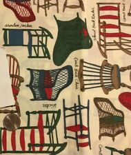 Material featuring all types of chairs. Super Cute!
