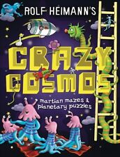 Crazy Cosmos: Martian Mazes and Planetary Puzzles - New Book Heimann, Rolf