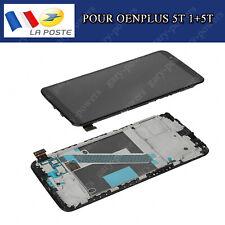 Ecran LCD Pour OnePlus 5T A5010 1+5T Display Complet Tactile Sur Châssis / Cadre