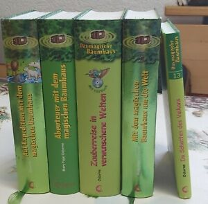 Das magische Baumhaus - Bücher Paket ( incl. 4 Sammelbände + 1Einzelband)