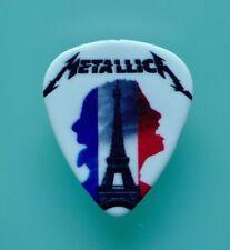 Metallica - Paris 08/09/17 Worldwired Tour 100% Authentic RARE Guitar pick