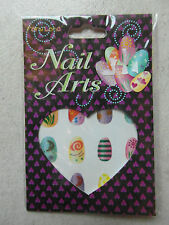 NEW: 2 x Packs of NAIL ART STICKERS  16 in each pack - ideal for Party, Wedding
