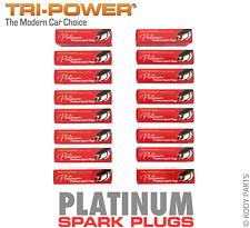 PLATINUM SPARK PLUGS - for Jeep Commander 4WD 4.7L V8 XH (3Y5) TRI-POWER