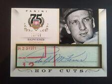Ralph Kiner 2014 Panini Hall of Fame Cut Auto #19/99 Pirates FREE SHIP