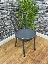 More details for heavy duty contract quality grey bentwood wooden restaurant bistro side chair