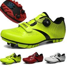 Mountain Road Cycling Shoes Men Racing Bike Shoes Bicycle Sneakers Self-Locking