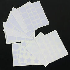 12pcs French Nail Art Guide Tips Hollow Stencils Sticker Manicure Template Set