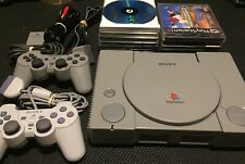 PlayStation PS1 SCPH-1001 A/V Console Bundle Games Controllers - Tony Hawk