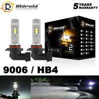 9006 HB4 LED Headlights Bulb High Low Beam Conversion Kit 6000K Super White
