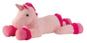 XXL Einhorn Rosa Pink 110 cm Plüschtier Kuscheltier Stofftier Plüsch Unicorn