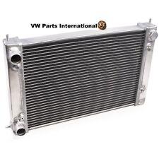 VW GOLF MK2 1.6 16v 1.8 16v GTI High Performance Aluminium Radiator 80>92 Wit...