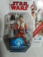 Star Wars Force Link Series 1 Poe Dameron Figure Hasbro 2016 Aus Seller