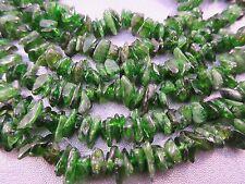 Chrome Diopside Pebble Beads 165pcs