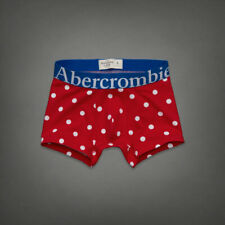 A&F Abercrombie & Fitch Colden Dam Red Boxer Briefs - Size Small BNWT