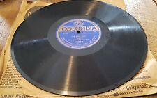 """Frank Crumit """"The Love Nest"""" & Henry Burr """"Down..."""" 78 RPM Columbia (A2973) 1920"""