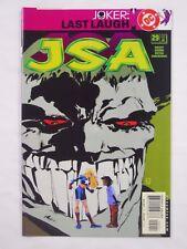 DC Comics JSA #29 (2001)-Justice Society of America-Joker: Last Laugh