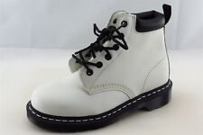 Dr. Martens Ankle Boots  White Leather Women Size 6