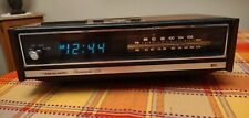 Vintage Realistic Chronomatic 208 Wood Grain Amfm Dual Alarm Clock Radio