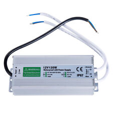Dc 12v 120w Outdoor Waterproof Transformer Power Supply Adapter Led Light Driver