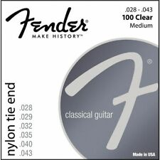 3 Games of Strings Fender 100clear - Nyloc 028/043 - 0730100300-guitare