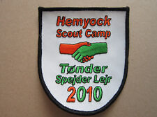 Hemyock Scout Camp 2010 Cloth Patch Badge Boy Scouts Scouting L3K C