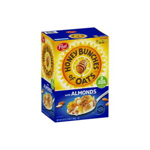 Post Honey Bunches of Oats With Crispy Almonds (48 oz) GREAT DEAL!!