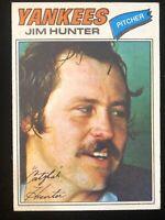 "1978 TOPPS #280 JIM ""CATFISH"" HUNTER NM/MT HOF"