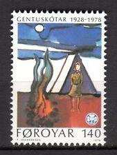 Faroe Islands - 1978 50 years girl scouts - Mi. 41  MNH