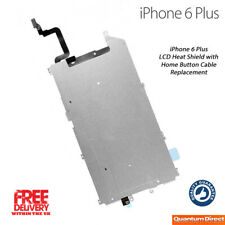 NEW iPhone 6 Plus LCD Mid Plate Heat Shield with Home Button Cable UK Free Post