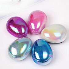 Mini Tangle Hair Brush Egg Round Shape Soft Hairbrush Hair Brush Styling Comb