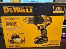 dewalt brushless drill/driver kit DCD777C2