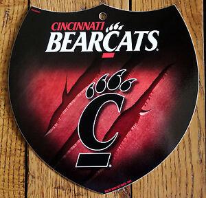 NCAA Rico Industries  16-Inch Plastic Street Sign D/écor Cincinnati Bearcats