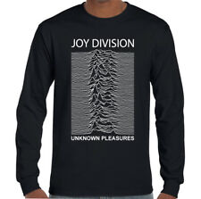 Joy Division Unknown Pleasures - Mens Music LS T-Shirt Factory Records FAC51