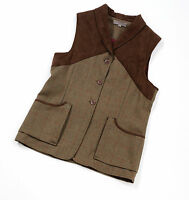 Laksen Teviot Ladies Tweed Shooting Vest Waistcoat