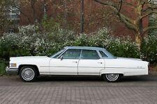 Cadillac De Ville aus EZ 1976 mit Tüv und H - Kennzeichen. Top Originalzustand