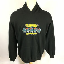Rare Vintage Joe Cartoon joecartoon.com Hoodie Hooded Cartoon Sweatshirt Flash