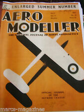 AEROMODELLER 1937 JULY 20TH ISSUE FACSIMILE MODEL AIRCRAFT AVIATION