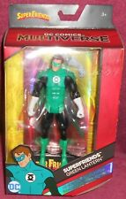 DC MULTIVERSE - SUPERFRIENDS  GREEN LANTERN ACTION FIGURE - WITH CARD & STAND